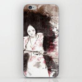 Derrotar al enemigo (color version) iPhone Skin