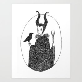Fairy Tale Witch Art Print