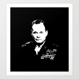 "Lewis ""Chesty"" Puller Art Print"