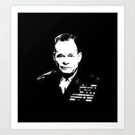 "Lewis ""Chesty"" Puller Art Print"