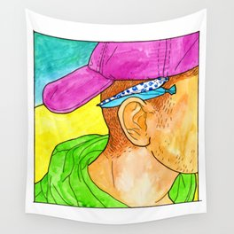 blueberry and cotton candy Wall Tapestry