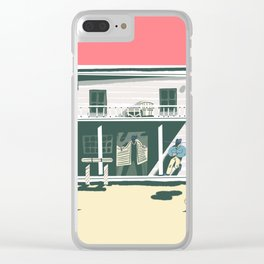 Saloon Clear iPhone Case
