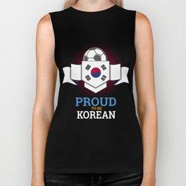 Football Korean Korea Soccer Team Sports Footballer Goalie Rugby Gift Biker Tank