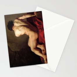 Patroclus by Jacques-Louis David Stationery Cards