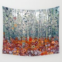 run Wall Tapestries featuring :: Run Free Woods :: by :: GaleStorm Artworks ::