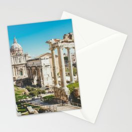 Roman Forum Ruins, Rome, Italy Stationery Cards