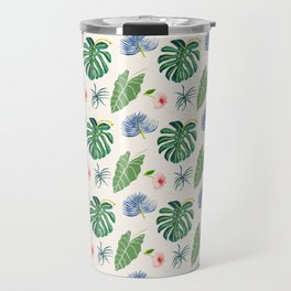 Tropical Blue Travel Mug