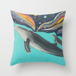 So, that's who created the universe? Throw Pillow