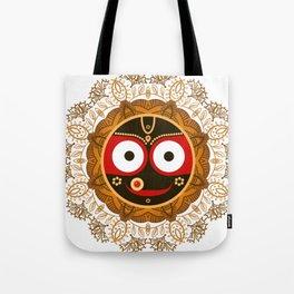 Jagannath. Indian God of the Universe. Lord Jagannatha. Tote Bag