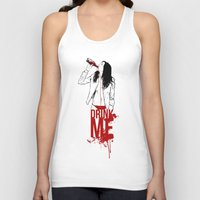 drink Tank Tops featuring DRINK by CoCoCo