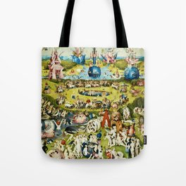 Hieronymus Bosch - The Garden Of Earthly Delights Tote Bag