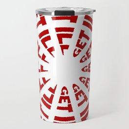 Time to Get Ill Clock - White Travel Mug