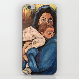 For Unto Us A Child is Born iPhone Skin