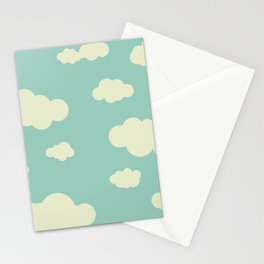 vintage clouds Stationery Cards