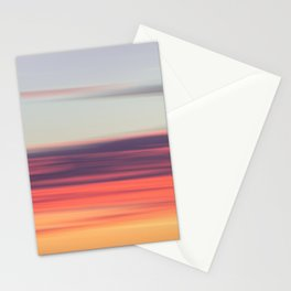 Abstract Sunrise Stationery Cards