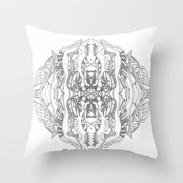 randpencil Throw Pillow