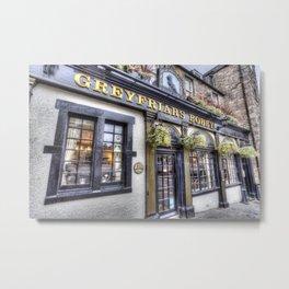 Greyfriars Bobby Pub Metal Print