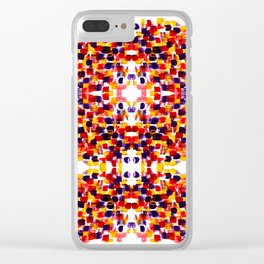 art smears Clear iPhone Case