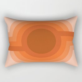 Sunspot - Red Rock Rectangular Pillow
