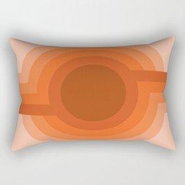 Sunspot - Red Rock Rectangular Pillow