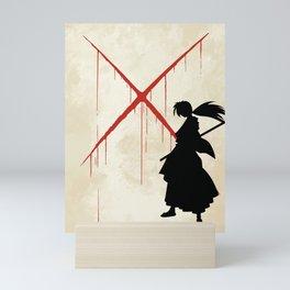 Samurai X Mini Art Print