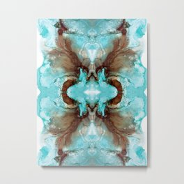 Abstract  Symmetry IV Metal Print