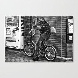 TOKYO BLUES Canvas Print