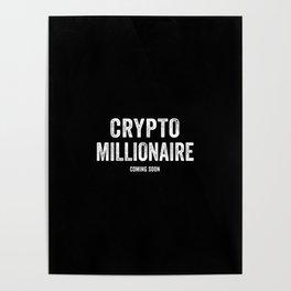 Millionaire Bitcoin Poster
