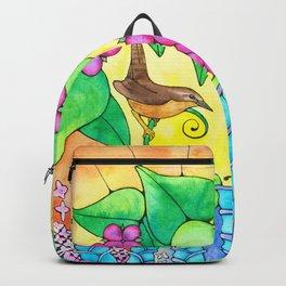 Wren in the Underbrush Backpack
