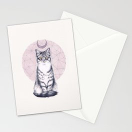 Mystic Kitten Stationery Cards