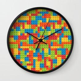 Legos Patter Wall Clock