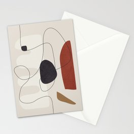 Abstract Minimal Shapes 27 Stationery Cards