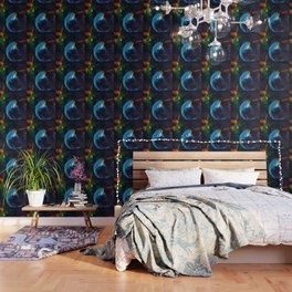 Blue Bubble Wallpaper