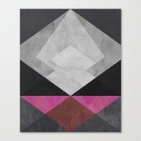 diamond Canvas Prints featuring Diamond by Georgiana Paraschiv