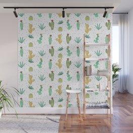 Cactus SERIE - CACTI LOVE Wall Mural