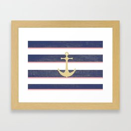 Anchor Away Framed Art Print
