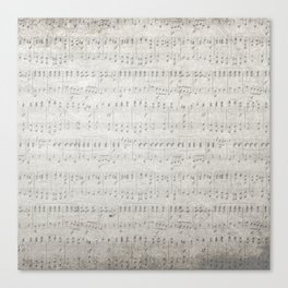 """MUSIC by collection """"Music"""" Canvas Print"""