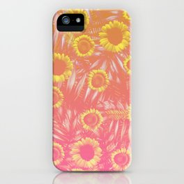 Sunflower Party #4 iPhone Case