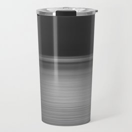 Sea at Sunset-Silver Travel Mug