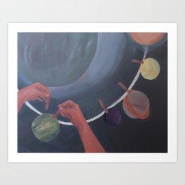 Constelaciones Art Print