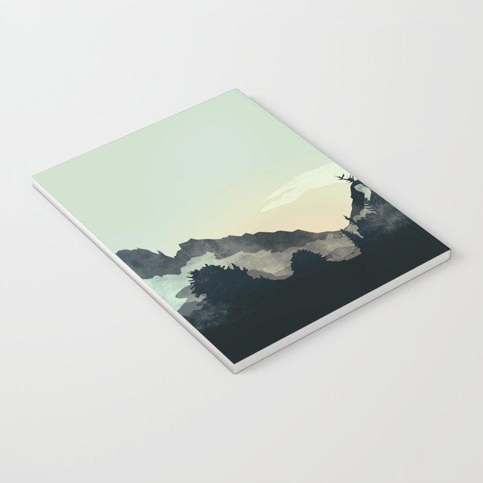 Misty Mountain Notebook