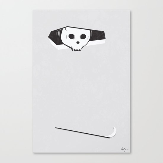 Ceiling Death Canvas Print