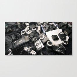 Former Glory: Chaos Canvas Print