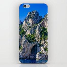 The White Grotto of the island of Capri, Italy off Naples and the Amalfi Coast iPhone Skin