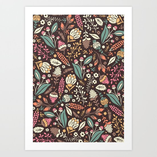 Sweet Flowers Art Print