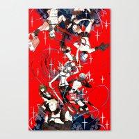 kill la kill Canvas Prints featuring Kill la Kill by Mari