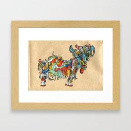 update 1.4 Framed Art Print