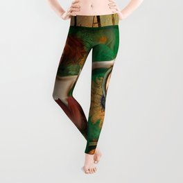 """Daisy Woman (Life of a Slave Girl)"" Leggings"