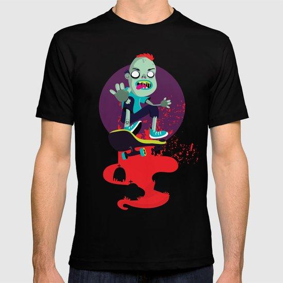 Skater zombie T-shirt