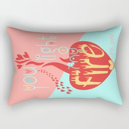 Funny Valentines Day You Light My Fire Rectangular Pillow